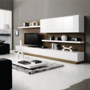 1000 id es sur le th me salons blancs sur pinterest salon neutre art de salon et canap s blancs for Deco mur tv