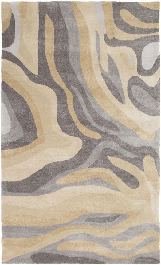 Anchor Your Living Room Seating Group Or Define E In The Den With This Artfully Crafted Rug Featuring An Abstract Motif For Eye Catching Eal