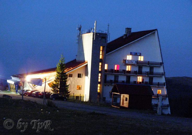Muntele Baisorii, Cluj County, Romania. Hotel Alpin