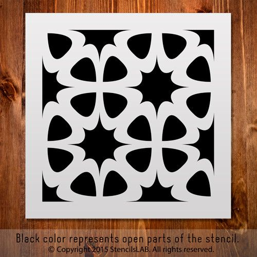 Small Pattern Stencil For DIY Projects