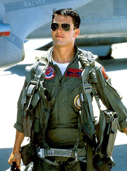 Tom Cruise in Top Gun- classic!