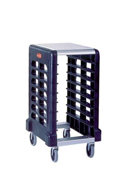 Max System Cart for preparation trays: Shelf designed specifically for Gastronorm trays
