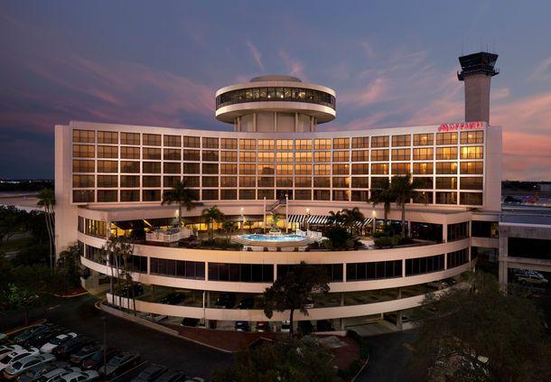 Tampa Airport Marriott Exterior