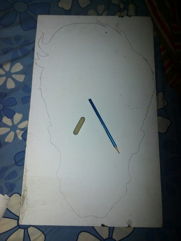 Steps 1 #pencil #eraser # tripleks
