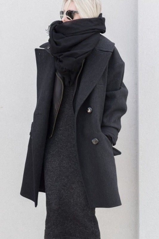 7 minimal winter outfits