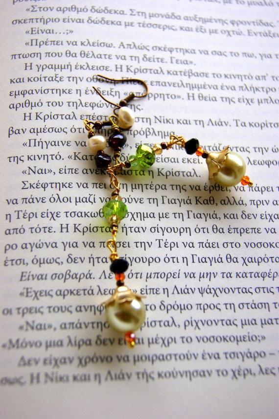 Retro  pearls Earrings by RenatasArt on Etsy, €12.00