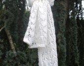 ECHARPE BLANCHE AJOUREE : Echarpe, foulard, cravate par de-laine-en-aiguilles sur ALittleMarket