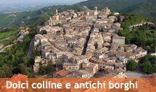 Dolci colline e antichi borghi...