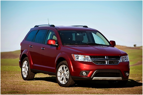 Don't mess with Texas, especially while driving a Dodge Journey.