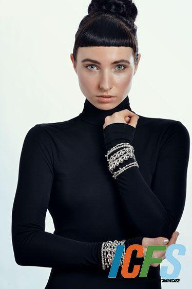 International Canadian Fashion Showcase Model Vanessa Kiraly.