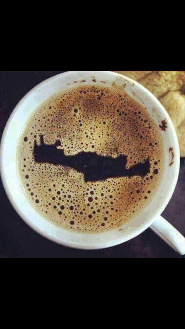Coffee in Crete (miss me a lot!)