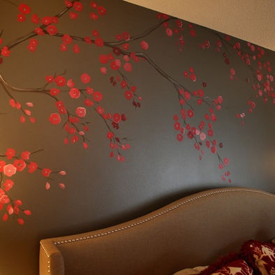 Cherry Blossom Bedding Design, Pictures, Remodel, Decor and Ideas - page 23