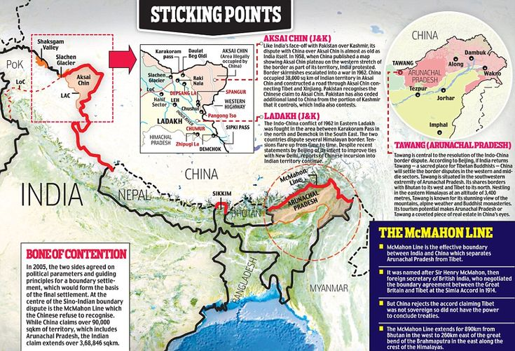 Nov 29, 13: Border Swap: India mayb be ready to let China keep Aksai Chin' if China drops claim to Arunachal Pradesh