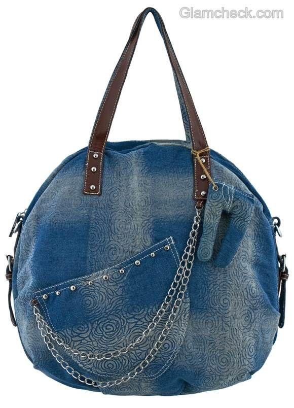 Denim handbags-2