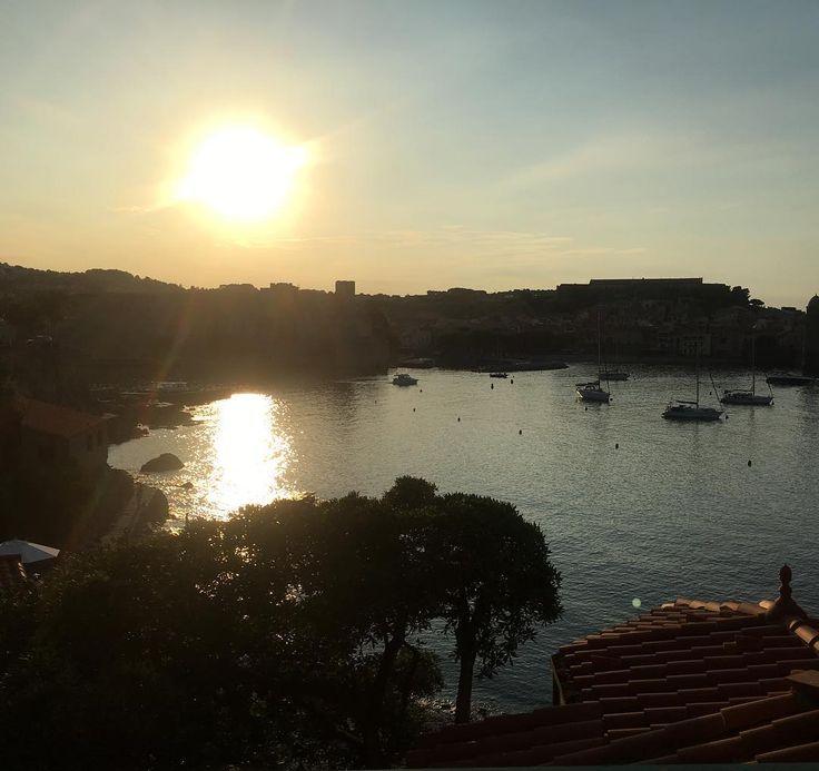 Petite escapade à Collioure . . #escape #sunset #photooftheday #photography #hotel #relaisdes3mas #beautiful #instagram #instamoment