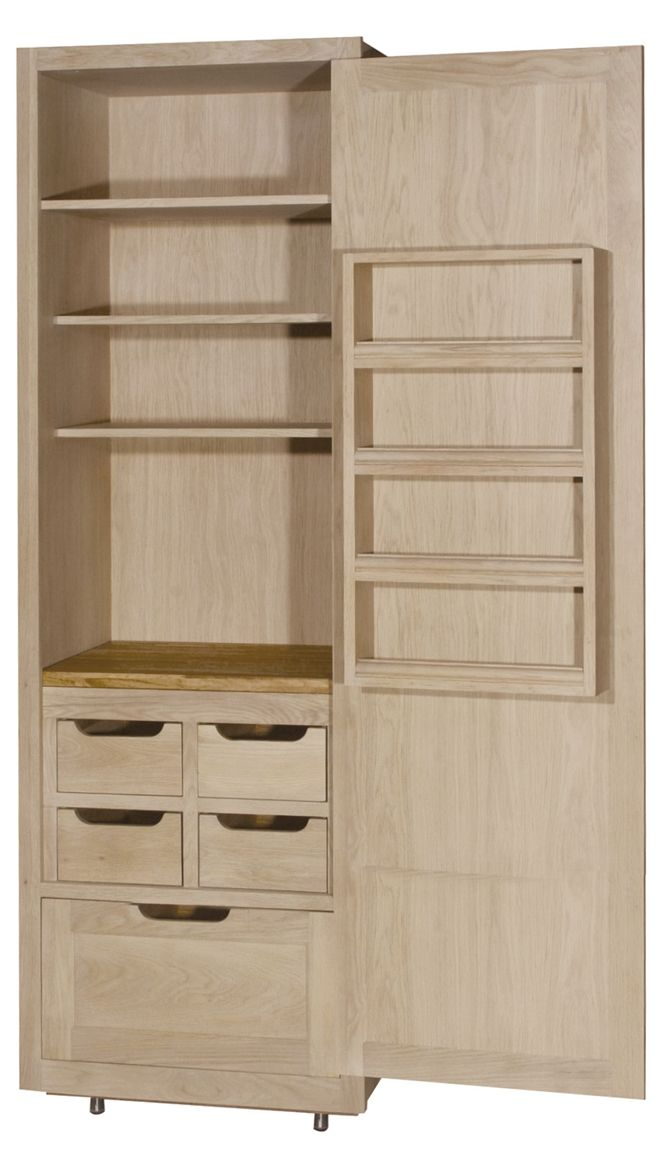 Neptune Kitchen Full Height Cabinets – Henley 690 Full Height Larder Cabinet