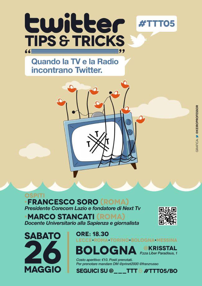 Twitter Tips & Tricks Bologna Krisstal #TTT05