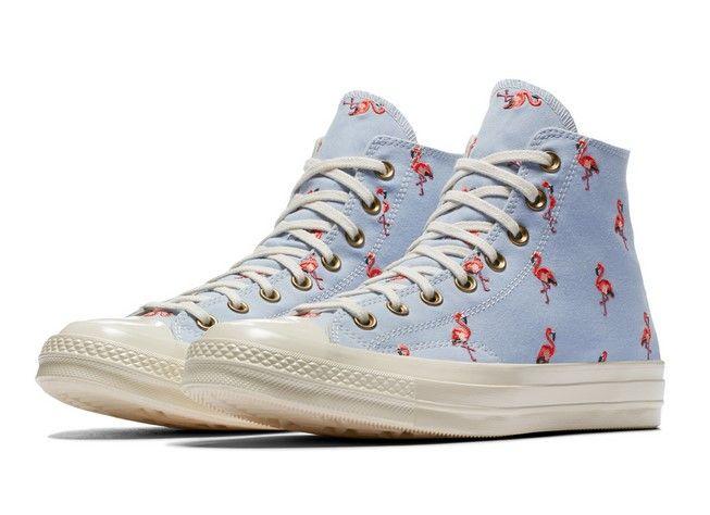 32ce32a90d4 Converse Chuck 70 Prep Embroidery blue chill pale coral egret ...