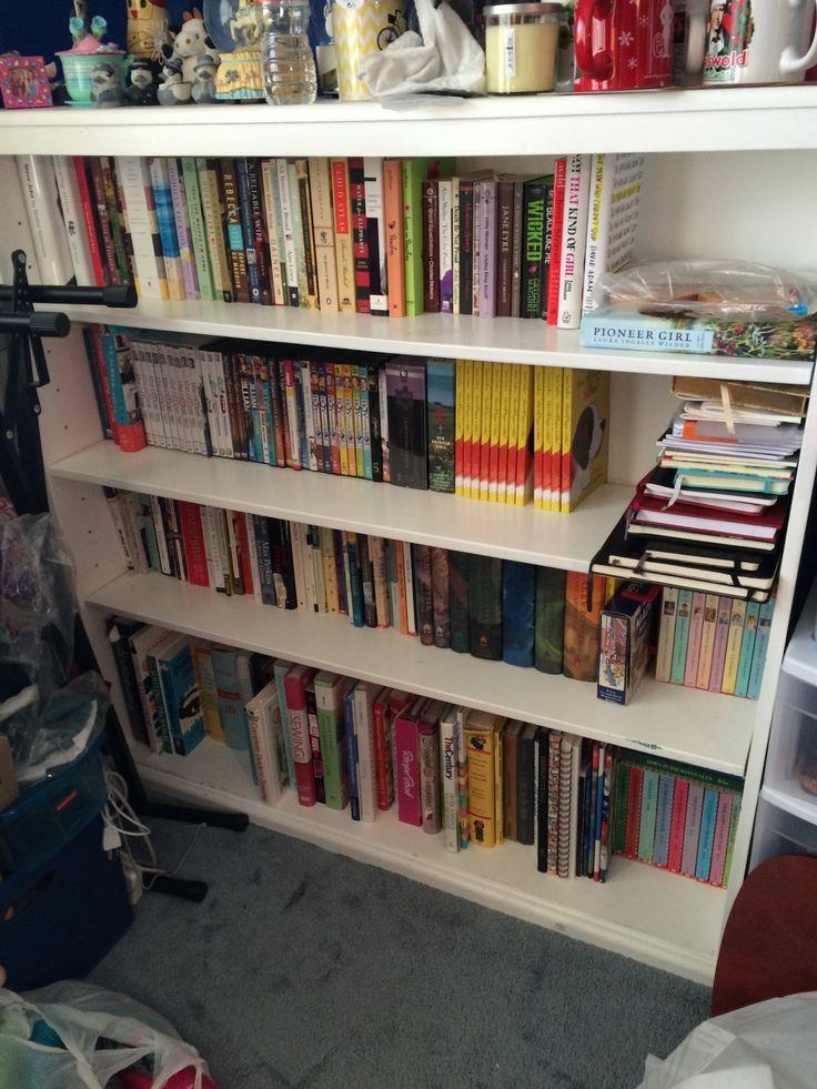 Konmari Method On My Books Bookshelf Organization
