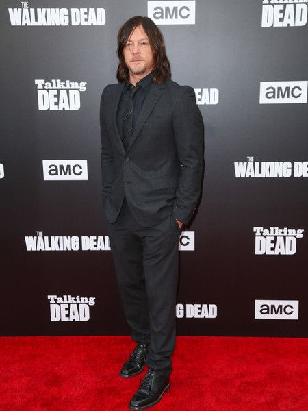 Norman Reedus Photos Photos - Norman Reedus is seen attending AMC 'Talking Dead Live' for the premiere of 'The Walking Dead' at the Hollywood Forever. - 'Talking Dead Live' for the Premiere of 'The Walking Dead'