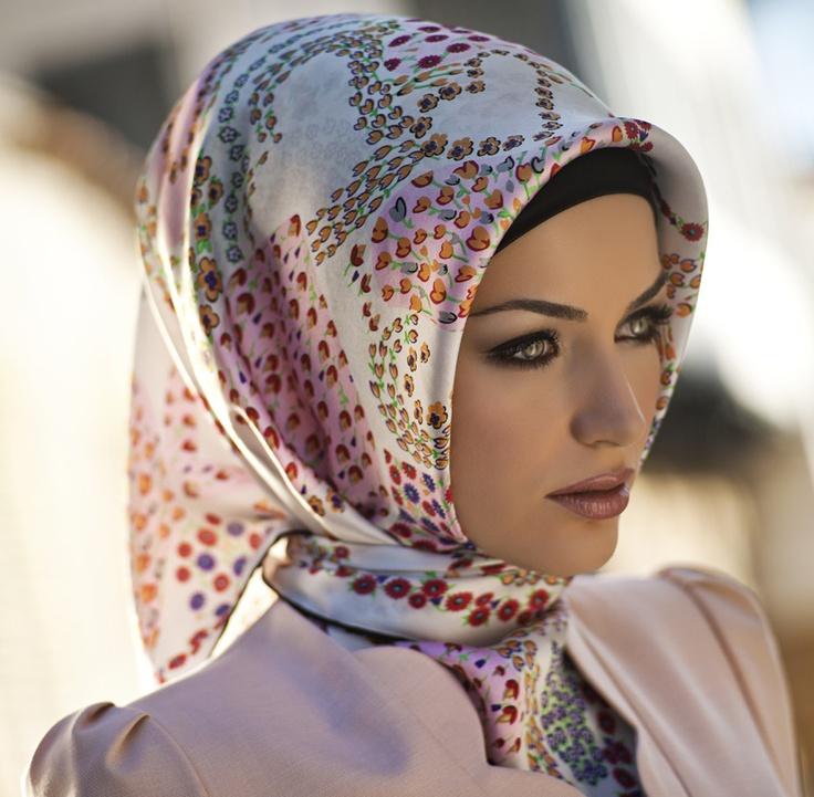 Armine Janaan Silk Hijab - http://www.HijabPlanet.Com