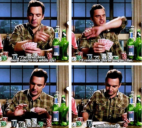this is my favorite Nick Miller scene