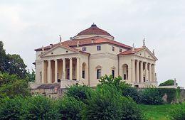 Italian Villa: La Rotonda - Andrea Palladio, Veneto, Italy