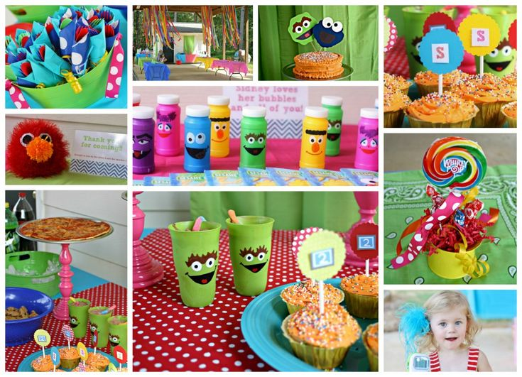 Sesame Street Birthday Party: Birthday Parties, B S Birthday, 1St Birthday, Projects Nurseries, Parties Ideas, 2Nd Birthday, Sesame Street Birthday, Street Parties, Birthday Ideas