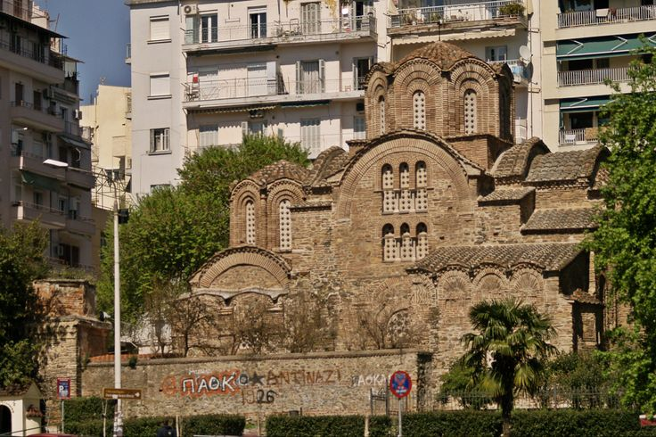 This late 13th century church was built as a monastery temple. (Walking Thessaloniki, Route 04 - Galerius)