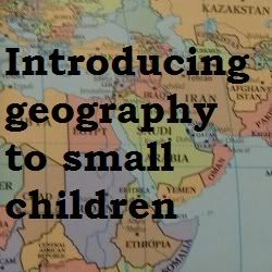 Jennifer's Little World blog - Parenting, craft and travel: Introducing maps to young children
