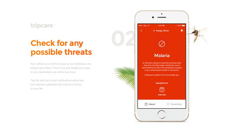 Tripcare - Your safe journey on Behance