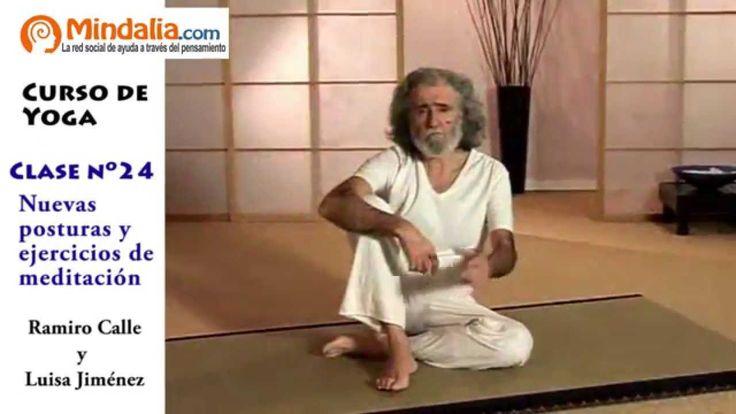 Nuevas posturas y ejercicios de meditación por Ramiro Calle. CLASE DE YO...