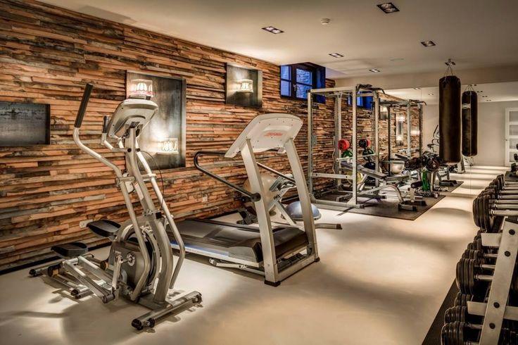 Woonvilla Blaricum : Moderne fitnessruimtes van Kabaz