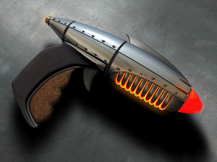 Dieselpunk ray gun