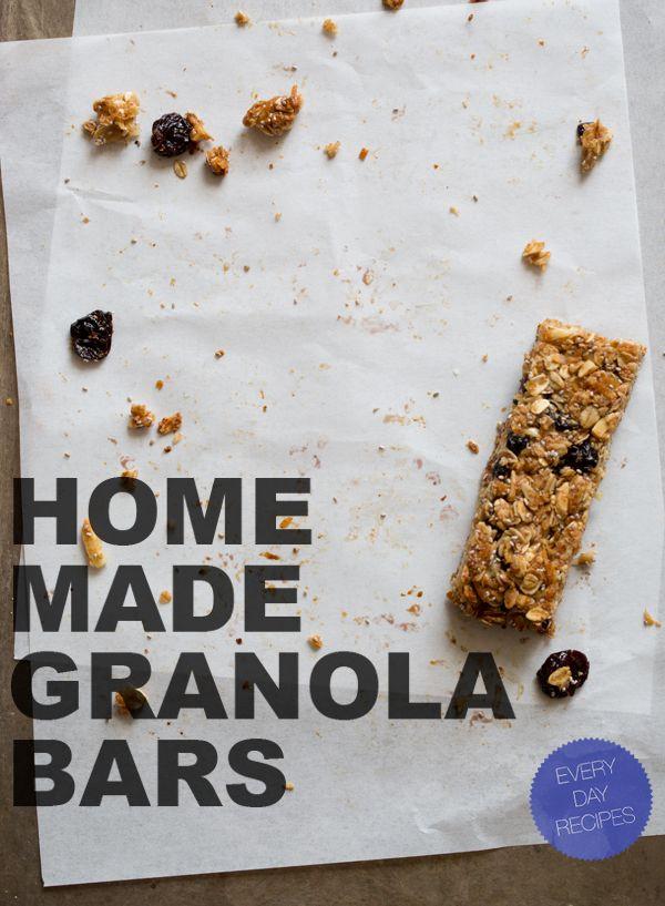 homemade-granola-bars: Snacks Recipes, Granola Bar Recipes, Foodsnacks Sweet, Spoons Forks Bacon, Healthy Eating, Homemade Granola Bars, Desserts Recipes Yummy, Bar Snacks, Bar Food