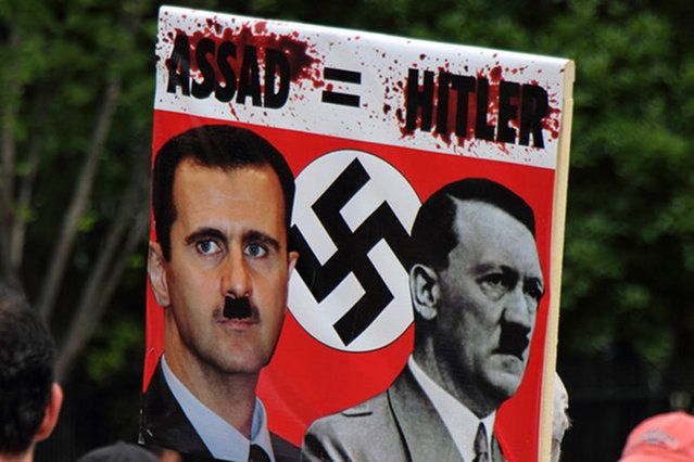 Assad is a Kurd, who believes to Aliwitism/ Alivitism & killed phoenician-arabs, who believes to Islam! But he defently killed the rest of syrian population, which are divided in diffrent ethic minorities & believe to diffrent religions!