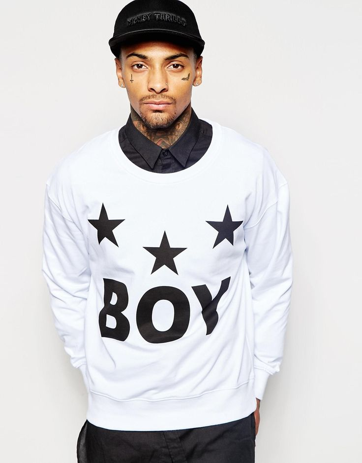 Bild 1 von Boy London – Tri Star – Sweatshirt