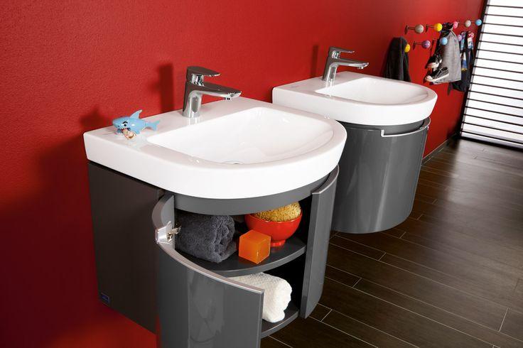 villeroy boch subway 2 0 furniture glossy grey. Black Bedroom Furniture Sets. Home Design Ideas