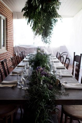 How to host the perfect (and Instagram-worthy) summer soirée / 1907 / floral army / a minute away from snowing /  vintage chairs / long table lunch / the range / toodyay / overhead foliage / table runner garland / padlock to plate / intimate dining / Turtle and the Pelican www.turtleandthepelican.com.au