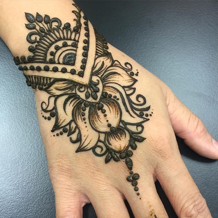 Traditional Henna Tattoo: Pin By The Henna Project On Traditional Henna Designs