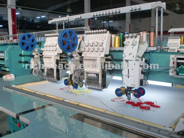 Richpeace Computerized Mix Cording/coiling Embroidery Machine ...