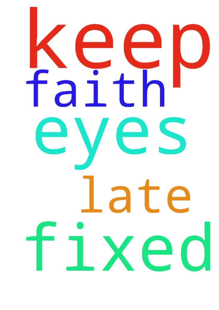 Lord, help me to keep my eyes fixed on you. Help me - Lord, help me to keep my eyes fixed on you. Help me to keep faith that you are not too late. Posted at: https://prayerrequest.com/t/jXN #pray #prayer #request #prayerrequest