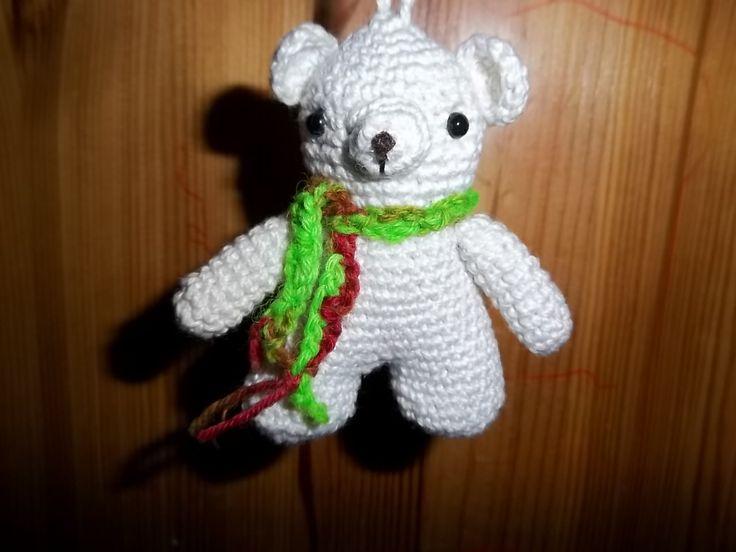mały miś ,breloczek / small teddy bear, pendant