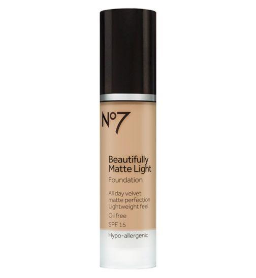 No7 Beautifully Matte Light Foundation