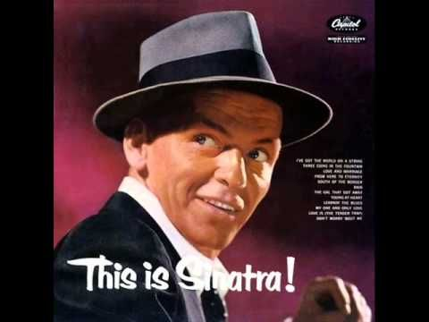 Frank Sinatra with Nelson Riddle Orchestra - My One and Only Love - YouTube ***wedding song*** ~crn~