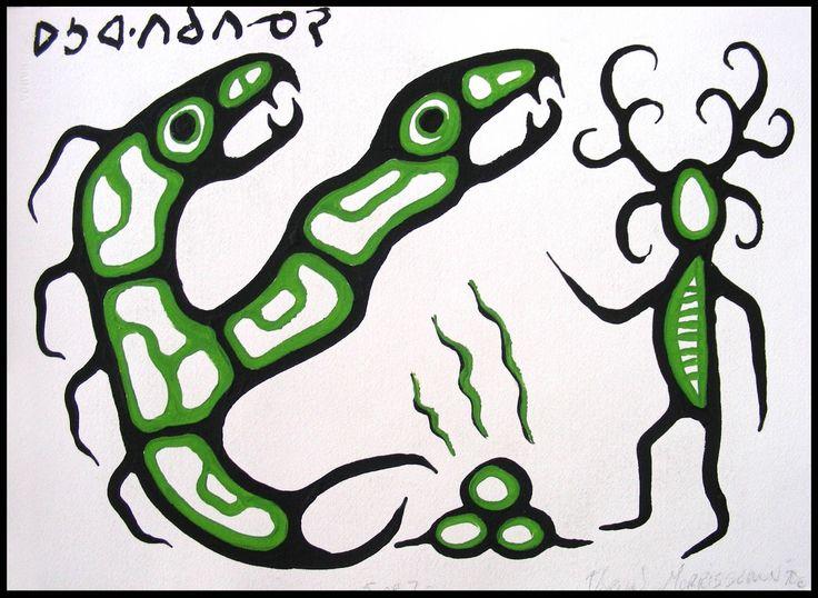 Image result for norval morrisseau art