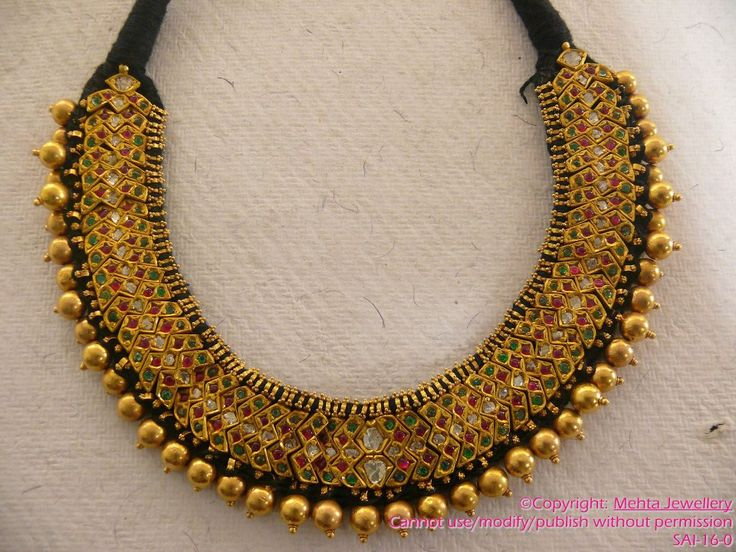 gold-necklace by mehta-jewellery