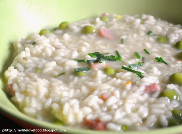 Pea Risotto | Risi e bisi | Adventures in Eatery | Pinterest | Risotto ...