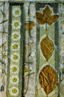 Angie's textile notes: Old Stuff This was made after the first workshop i ever attended...with Hilary Bower 1995 i reckon