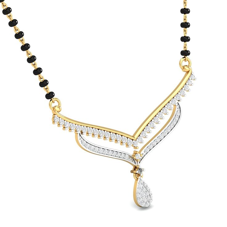 A complete contemporary take on the Indian mangalsutras ...